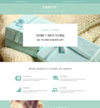Jewelry WordPress Template 61324