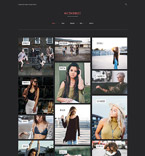 Art & Photography WordPress Template 61326