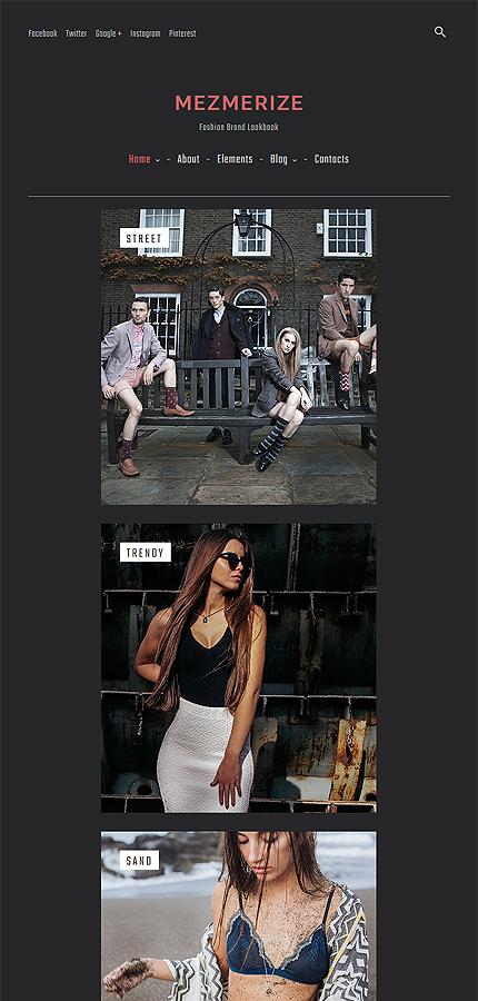 ADOBE Photoshop Template 61326 Home Page Screenshot