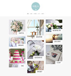 Art & Photography WordPress Template 61327