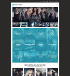 Entertainment Joomla  Template 61332