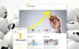Responsivt Joomla-mall för livscoach