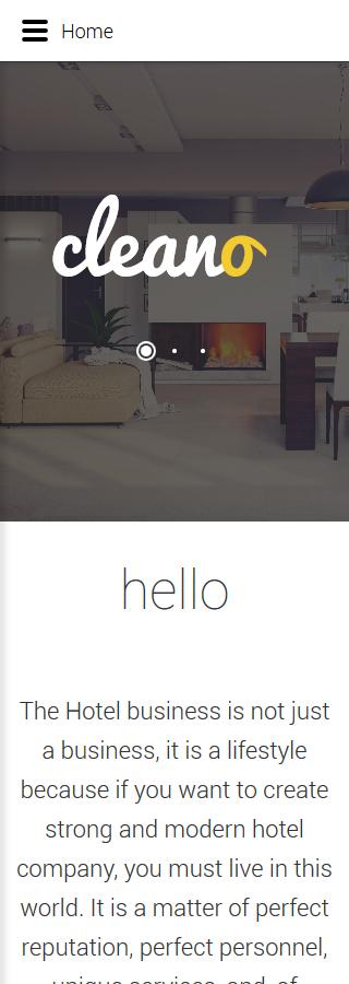 Joomla Theme/Template 61336 Main Page Screenshot