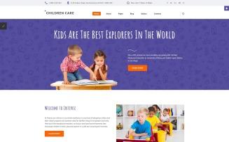 Children Care Responsive Joomla Template