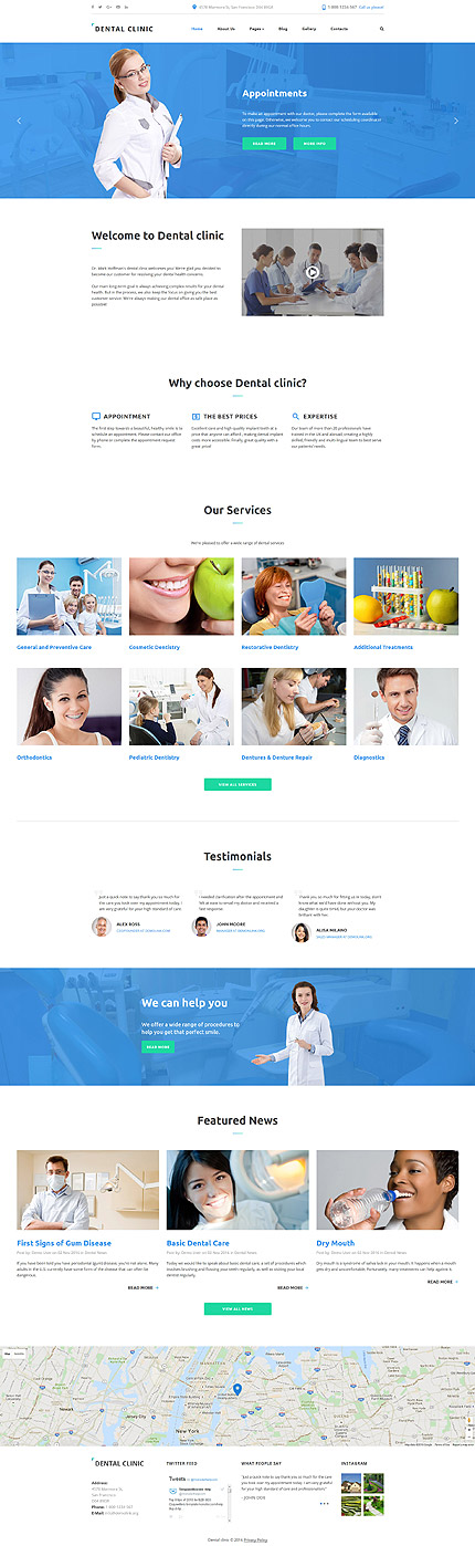 Joomla Theme/Template 61338 Main Page Screenshot