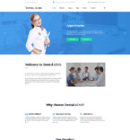 Medical Joomla  Template 61338