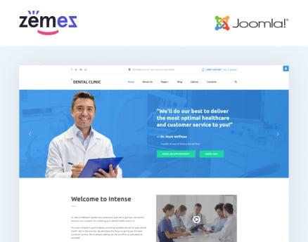 Dental Clinic - Dentistry Responsive Joomla Template