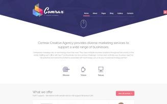 Comrax - IT Consulting Joomla Template