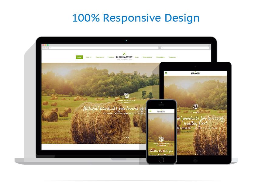 Modèles HTML5 Agriculture #61347