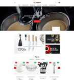 Cafe & Restaurant PrestaShop Template 61353