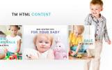 Адаптивный PrestaShop шаблон №61355 на тему детские игрушки