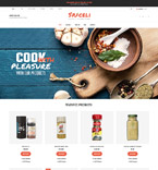 Food & Drink VirtueMart  Template 61356