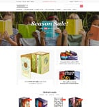 Books OpenCart  Template 61359