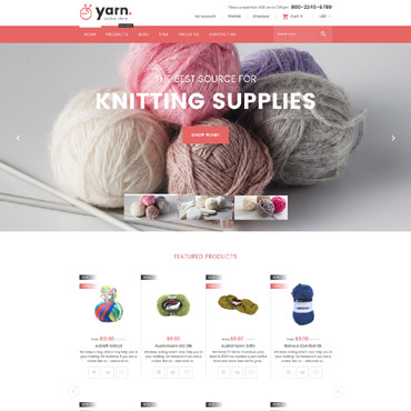 Preview image of Yarn - Knitting Responsive