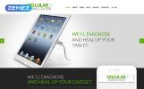Responsivt Joomla-mall för Mobiltelefonreparationstjänster