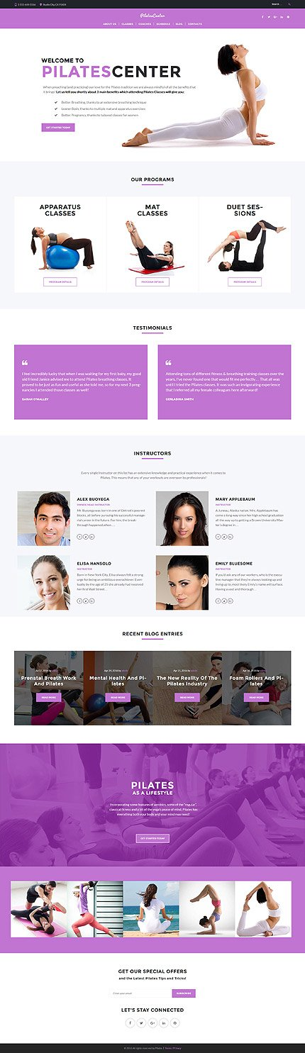 ADOBE Photoshop Template 61375 Home Page Screenshot