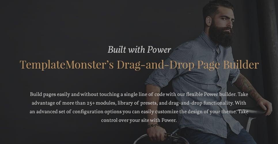 Jericho - Barber Shop Modern WordPress Theme