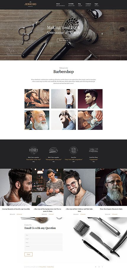 ADOBE Photoshop Template 61382 Home Page Screenshot