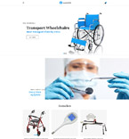 Medical OpenCart  Template 61383