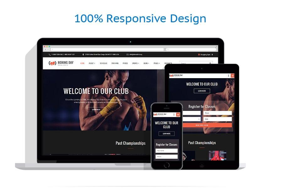 Modèles HTML5 Sport #61393