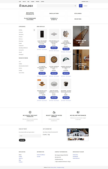 ADOBE Photoshop Template 61398 Home Page Screenshot