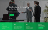 """Accountex - Accounting Clean Multipage HTML"" modèle web adaptatif"