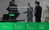 """""""Accountex - Accounting Clean Multipage HTML"""" Responsive Website template"""
