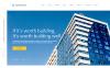 Адаптивний Шаблон сайту на тему будівельна компанія New Screenshots BIG