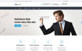 Адаптивний Шаблон сайту на тему фінансова консультація