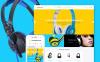 Адаптивний Shopify шаблон на тему музичний магазин New Screenshots BIG