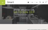 Адаптивный PrestaShop шаблон №61360 на тему магазин электроники
