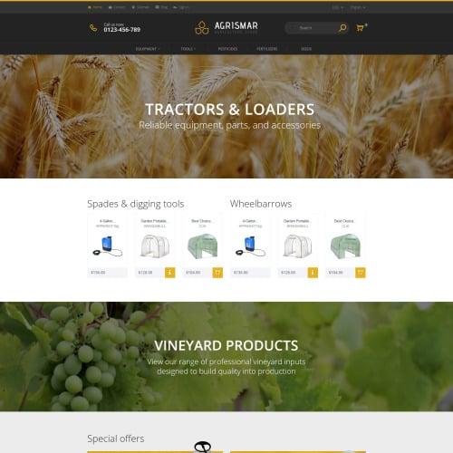 Agrismar  - PrestaShop Template based on Bootstrap