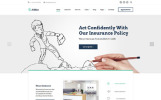 """AllRisk - Insurance Company Multipage"" Responsive Website template"