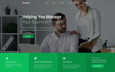 Web Development Responsive Website Template