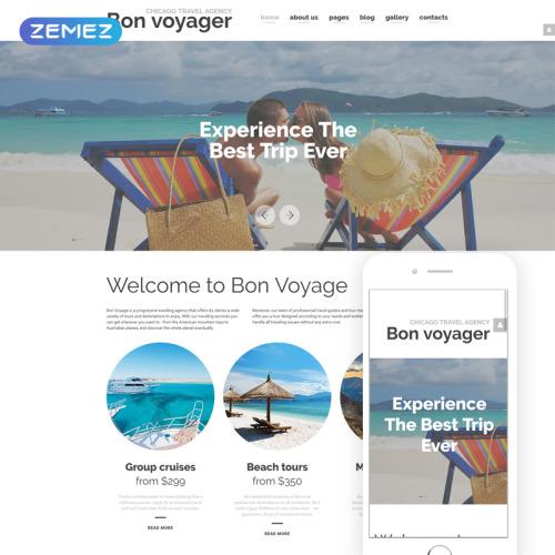 Bon Voyage - Joomla! Template based on Bootstrap