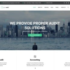 Consulting website themes with parallax scrolling effect easy audit multipage consulting bootstrap website template friedricerecipe