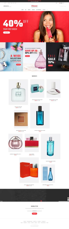 Cosmetics Store Responsive PrestaShop Thema