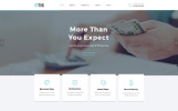 """""""FastCredit - Mortgage Solutions Multipage"""" Responsive Website template"""