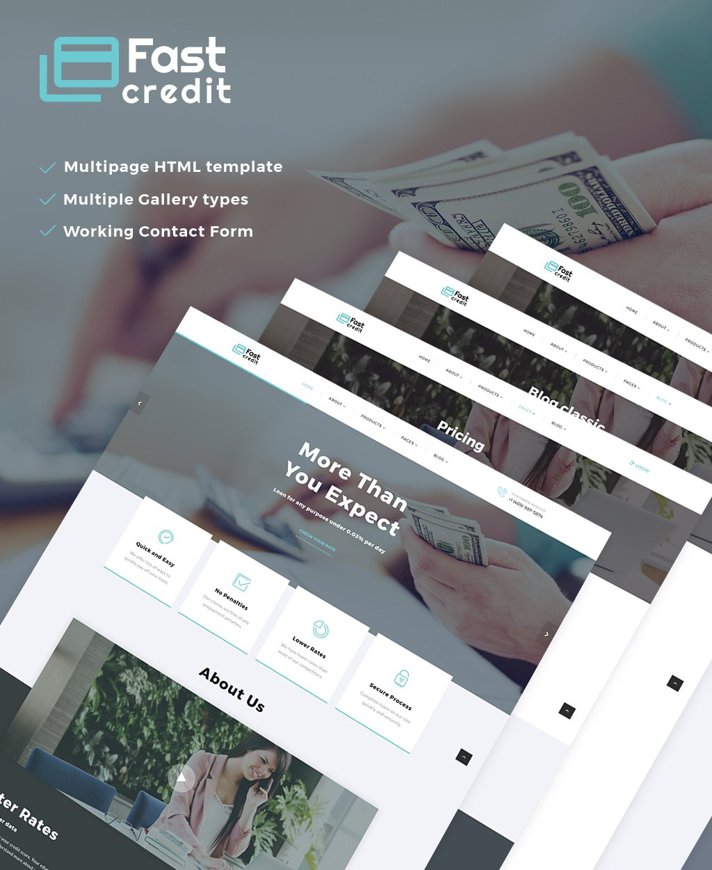 Mortgage Website Template - Mortgage website templates