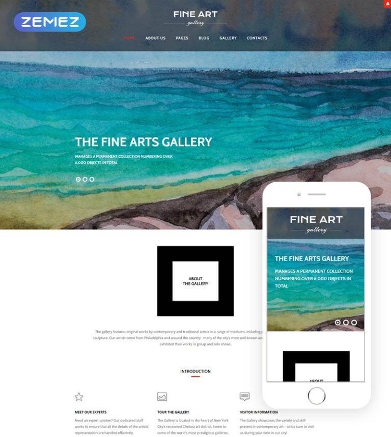 Art Gallery Joomla Theme