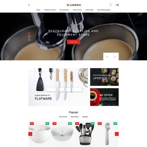 Lasergi  - PrestaShop Template based on Bootstrap