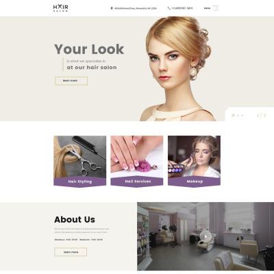 hair salon templates templatemonster