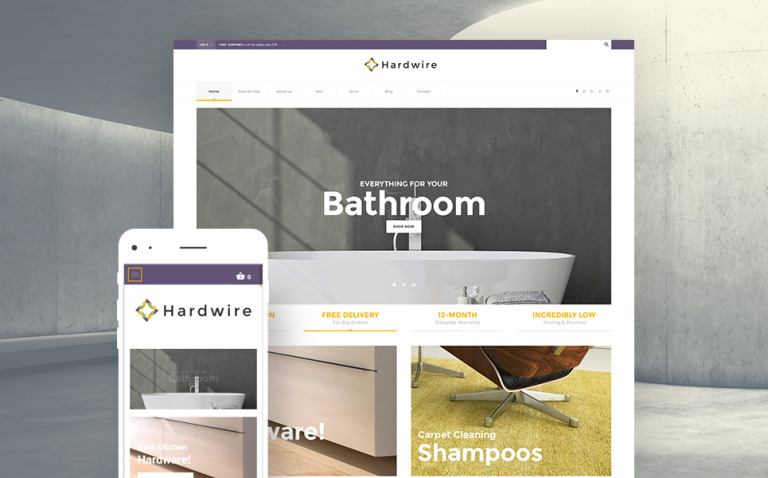 Hardwire - Household Hardware Store Responsive WooCommerce Theme New Screenshots BIG