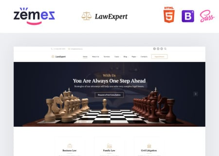 LawExpert - Lawyer & Attorney