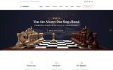 Law Expert - Responsive Website Template für eine Anwaltskanzlei