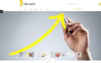 Life Coach Responsive Joomla Template