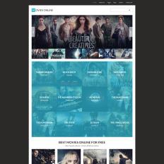 movie joomla templates