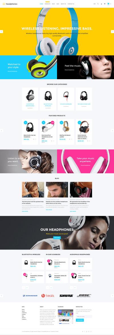 Music Store Responsive Shopify Teması