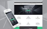 Responsive Website template over Adviesbureau