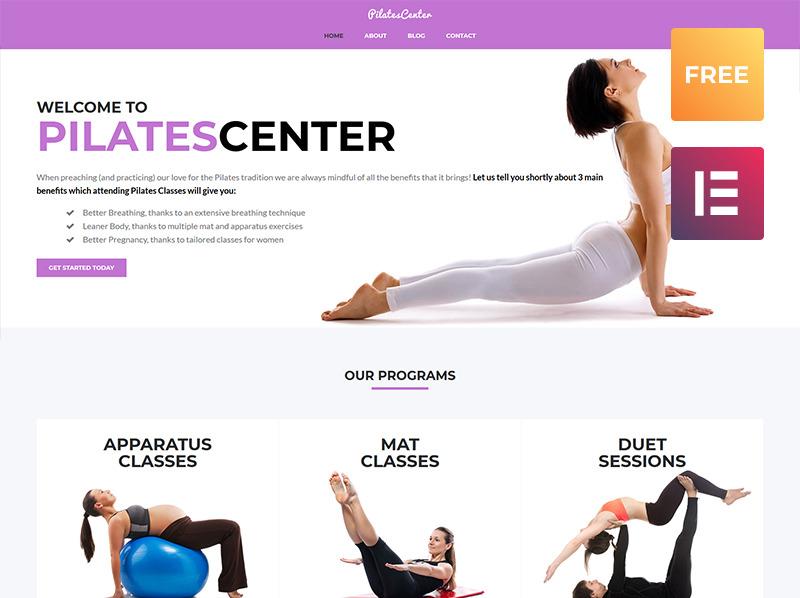 Responsive WordPress thema over Yoga New Screenshots BIG